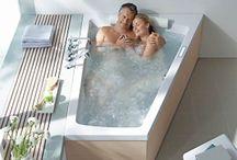 Bathroom with 2 person bath