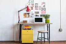 ¡A trabajar! / Encuentra inspiración para crear un lugar de trabajo perfecto para tu estilo.