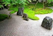 Zen Garden / Inspiration for coming Zen corner at Rose´s Feng Shui garden.