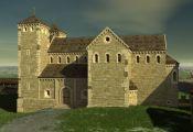 Wawel castle Kraków Poland - romanesque times