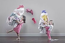 Creative sibling photography