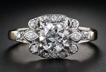 Engagement rings I would die for  / by Jennifer Koziol