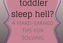 Toddlers / Sleeping habits