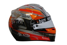 Romain's New Helmet 2013 / The latest photos of Romain's new helmet for the Canadian Grand Prix / by Lotus F1 Team