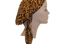 Leopard/ Animal prints / Lots of leopard hair accessories such as pre-tieds bandanas, headwraps and bows.