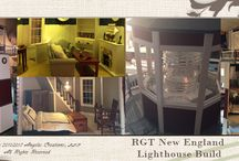 1:12 Scale RGT New England Lighthouse / Designing and construction of the 1:12 Scale RGT New England Lighthouse
