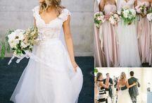 Landhochzeit Brautkleid