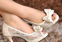 Bride shoes inspiration