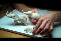 Sculpting: animals