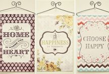 Banners,Table Runners, Placemats / by Joy Efferson