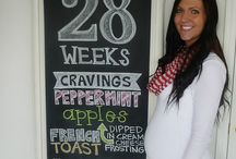 Pregnancy Ideas / Fun ways to let the world know you're expecting or for gender reveals!