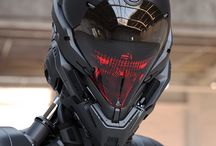 Robots/swords/helmets