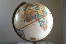 Wanderlust - Globes, Maps and Compasses / Globes and maps and compasses
