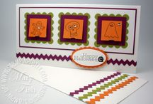 HALLOWEEN CARD & CRAFTING IDEAS / Template ideas for Halloween cards and crafts! / by Barbara Charles