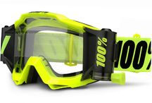 100% Accuri Forecast Mud Goggles with advanced cleaning system! / This revolutionary mud specific goggle is a complete system comprised of working parts that function seamlessly together. Wider film, smoother pulls, and an advanced cleaning system contribute to achieving our goal of providing the maximum amount of vision.