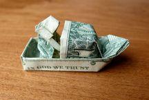 Money Art Pins..