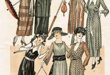 1919-1924 Day Wear