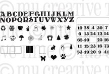 Anyday Bingo & Crossword / Inspiration for this stamp set!