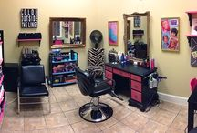 Hair salon / by Kaci Harrington
