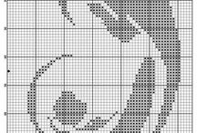 Krížikové vzory na vyšívanie