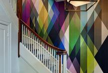 WIJ <3 KLEUR / Voeg kleur toe aan je leven! Kleur in je interieur kan de ruimte zoveel meer nuance geven. Een ander soort behang of een wand met een frisse nieuwe kleur verf.