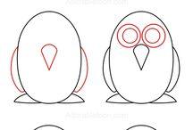 tekenen hoe teken je een....