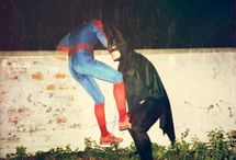 WE could BE heroes / Being a freak in a too tight costume? Who wouldn't love that?!?!