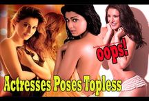 Actresses Poses TOPLESS