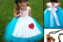 Carnival tulle costumes