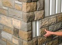 Stone looking facades