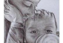 Intimate Parenting Moments / Tune in to the energy of unconditional love and warm up your day with these positive parenting images of deep bonding and loving connection.
