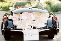 Wedding transport / Horse and carriage to the church or a convertible along the Spanish coastline... all options are possible.