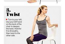 desk exercises