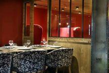 Aménagement restaurant ambiance montagne / Conception - Aménagement - Décoration  Restaurant en montagne - Ambiance chalet et ambiance contemporaine design