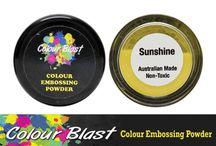 CB Embossing Powder