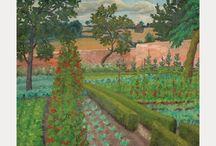 Potager Inspiration / Paintings, garden books, plans.