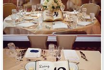 Flowers/table arrangements