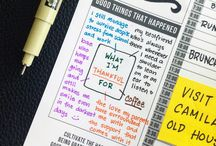 Passion Planner Ideas