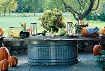Outdoors Dining & Relaxing / by Elisabeth Wallace