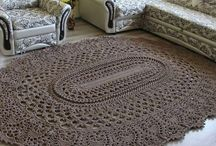 crochet alfombras