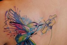 Aquarell tatoo