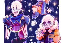 Sands and frisk and Papy
