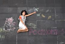 Disney Ladies Chalk Photography