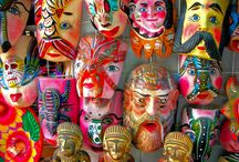 mexico: masks (mascaras) / by lupe flores