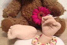 Hands and feets! / Babyhändchen in ewiger Erinnerung