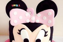 Tarta Minnie Mouse / Podéis seguidme en Mariablablabla en Facebook