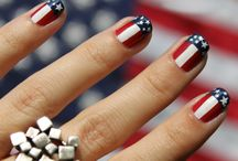 PATRIOTIC NAILS / by Red Carpet Manicure