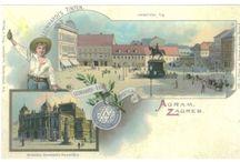 Zagreb – stare razglednice iz fonda Grafičke zbirke NSK / Stare razglednice Zagreba iz fonda Grafičke zbirke Nacionalne i sveučilišne knjižnice u Zagrebu.