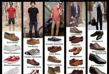 panduan sepatu pria