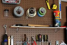 TOOL SHED IDEAS